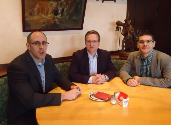 (2014) Meeting with our partner from celanio, Hannover, Germany