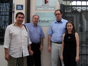 (2005) Meeting with our partners from SmartPath (Udine, Italy) in Novi Sad, Serbia
