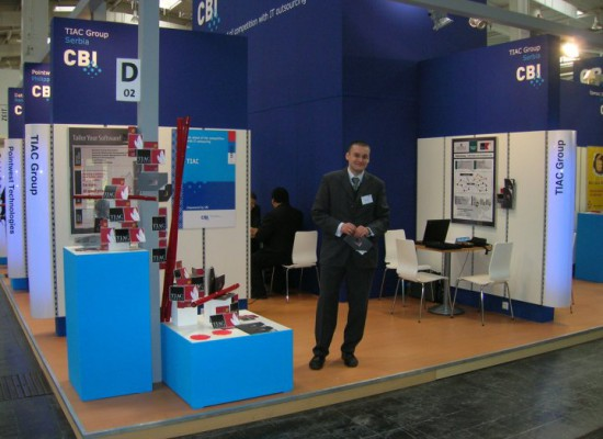(2010) TIAC at CeBIT, Hannover, Germany