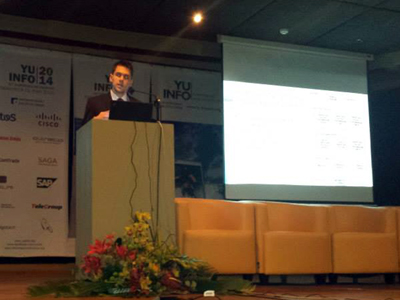 (2014) Paper presentation by Robert Ramač at YU INFO Conference, Kopaonik, Serbia