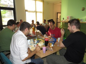 (2013) After work games session, Novi Sad, Serbia