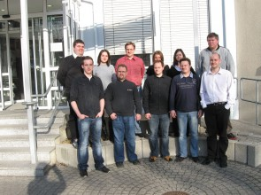 (2012) Visit to our partner celanio, Karlsruhe, Germany